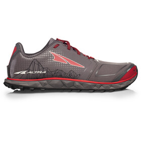 Altra Superior 4 Running Shoes Herr gray/red